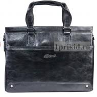 Сумка портфель натуральная кожа 39x8x29см/11857 цвет чёрный