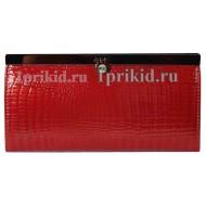 Кошелёк BODENSCHATZ женский красный натуральная кожа 19x9см/34260