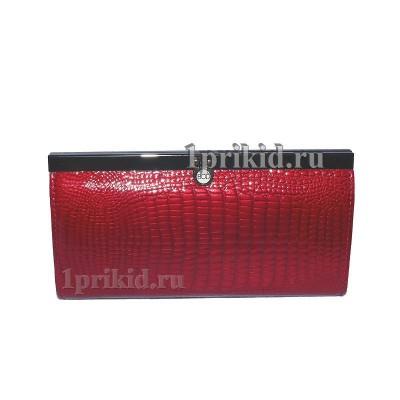 2bf77bf24bef Кошелёк BODENSCHATZ Red женский красный натуральная кожа 19x9см/3430 ...