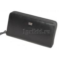 Braun Buffel кошелек мужской чёрный натуральная кожа 20x4x10см/4356