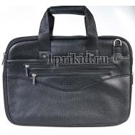 Мужская сумка папка кожзаменитель 41x6x29см/44634 цвет чёрный