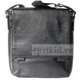 Сумка ARMANI натуральная кожа 24x6x27см/7685 цвет чёрный