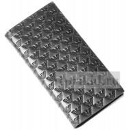 Кошелек ARMANI мужской чёрный натуральная кожа 18x9см/78731