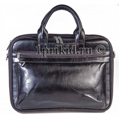 Мужская сумка Bolinni кожзаменитель 36x5x27см/80250 цвет коричневый
