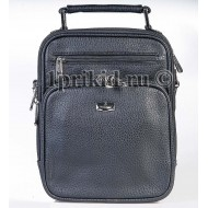 Барсетка сумка мужская Bolinni кожзаменитель цвет чёрный 18x6x23см/97550