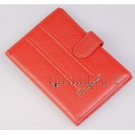 Кошелёк Salvatore Ferragamo женский красный натуральная кожа 19x4x10см/8958