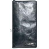 ARMANI (Армани) барсетка (кошелек) натуральная кожа цвет чёрный 20x3x11см/13481