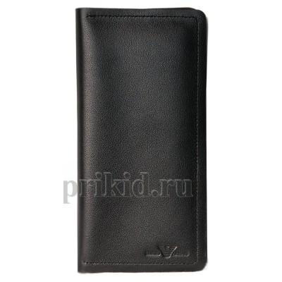 ARMANI (армани) кошелек мужской чёрный натуральная кожа 19 x 9 /51302