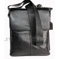 ARMANI(Армани) сумка из кожи натуральная кожа 22x6x26см/45330 цвет чёрный