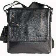 ARMANI(Армани) сумка мужская натуральная кожа 24x7x25см/45280 цвет чёрный