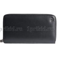 Braun Buffel (Браун Буфел) кошелек мужской чёрный натуральная кожа 21x2x11см/78457