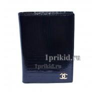 Кошелёк CHANEL СBlack женский чёрный натуральная кожа 12x8см/004