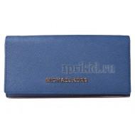 Женский кошелёк натуральная кожа 19x9см/54728 цвет синий