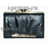 Кошелёк Cartier A женский чёрный натуральная кожа 12x8см/2782