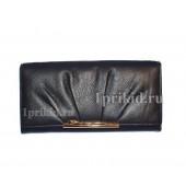 Кошелёк Cartier A женский чёрный натуральная кожа 19x10см/2781