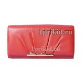 Кошелёк Cartier B женский красный натуральная кожа 19x9см/2781