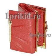 Кошелёк Cartier B женский красный натуральная кожа 12x8см/2782