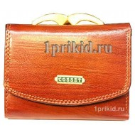 Обложка для документов Cosset натуральная кожа цвет коричневый 10x14см/7041