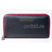 Кошелёк Kenzo натуральная кожа 20x2x10см/97812 цвет чёрный
