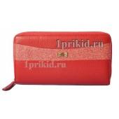 Кошелёк LISON KAOBERG женский красный натуральная кожа 19x10см/9049