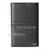 Кошелёк BRAUN BUFFEL мужской чёрный натуральная кожа 11x18см/1284