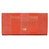 Кошелёк NICOLE RICHIE женский красный натуральная кожа 19x9см/4325