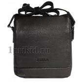 Мужская сумка JANCARLO BARETTI натуральная кожа 21x8x24см/7901 цвет чёрный