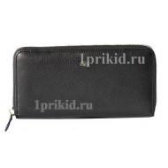 Мужской кошелёк S.T. DUPONT мужской чёрный натуральная кожа 20x10см/0870
