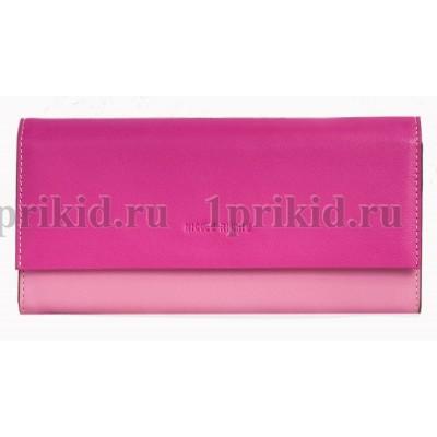 NICOLE RICHIE (Николь ричи) кошелек женский розовый натуральная кожа 19x9см/57891