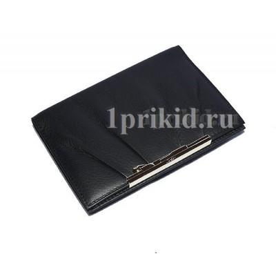 Обложка Cartier натуральная кожа цвет чёрный 10x14см/6700