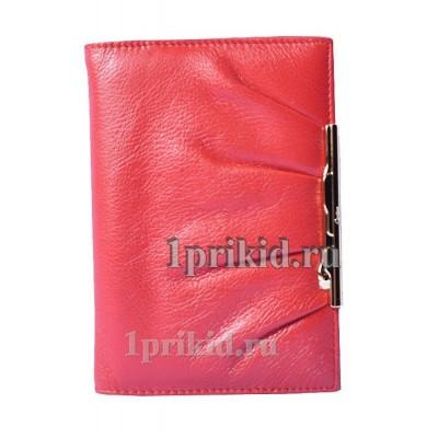 Обложка Cartier натуральная кожа цвет красный 10x14см/6701