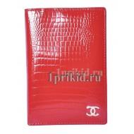 Кошелёк CHANEL C женский красный натуральная кожа 12x8см/004
