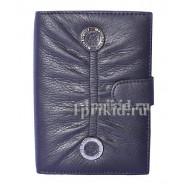 Обложка Moro JEnny для документов натуральная кожа цвет чёрный 10x14см/04812