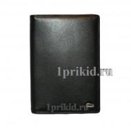 Обложка PETEK натуральная кожа цвет чёрный 10x14см/1741