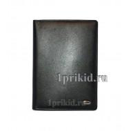 Обложка PETEK натуральная кожа цвет чёрный 10x14см/1751