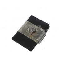 Обложка SONIA RYKIEL натуральная кожа цвет чёрный 10x14см/05845