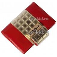Обложка SONIA RYKIEL на документы натуральная кожа цвет красный 10x14см/9095