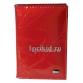 Обложка Wanlima натуральная кожа цвет красный 10x14см/2063