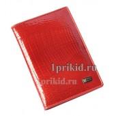 Обложка WANLIMA Red натуральная кожа цвет красный 10x14см/4981
