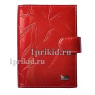 Обложка WANLIMA натуральная кожа цвет красный 10x14см/5312