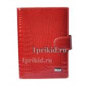 Обложка WANLIMA натуральная кожа цвет красный 10x14см/5319