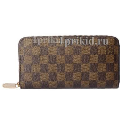 Портмоне LOUIS VUITTON мужской коричневый натуральная кожа 19x10см/1969