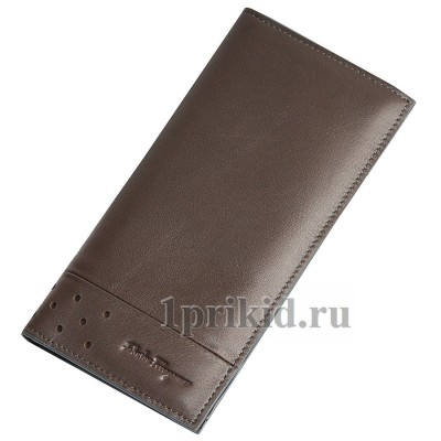 Salvatore Ferragamo кошелек мужской коричневый натуральная кожа 19x9см/33731