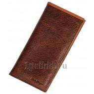 SALVATORE FERRAGAMO кожаный кошелек мужской коричневый натуральная кожа 19x9см/3691