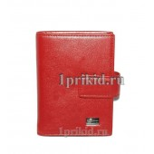 Визитница Red натуральная кожа цвет красный 8x10см/2122