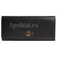 Женский кошелёк LOEWE женский чёрный натуральная кожа 19x9см/5413